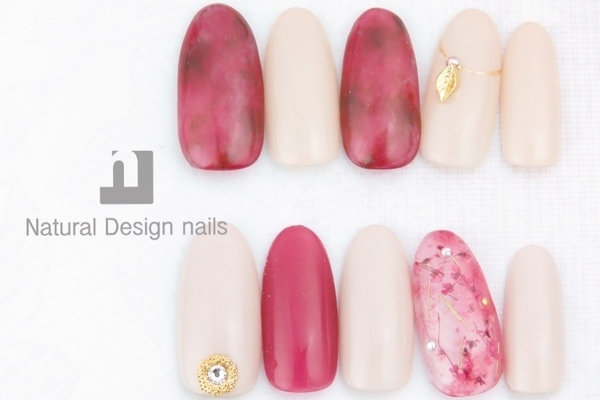 Natural Design nails